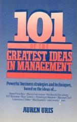 101 Greatest Ideas in  Management