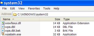 WPA Files