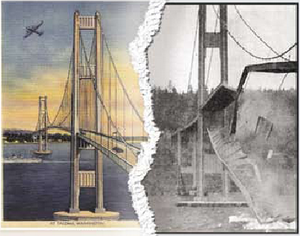 Tacoma Narrow Bridge: Before and After