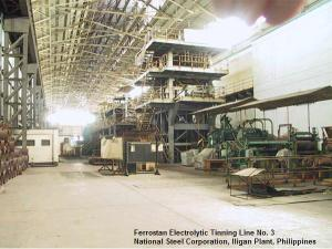 Electrolytic Tinning Line No. 3, National Steel Corporation, Iligan City