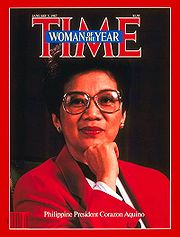 Cory Aquino: Woman of the Year