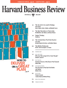 Harvard Business Review, June 2008