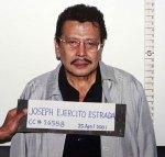 Erap Estrada's Mug Shot