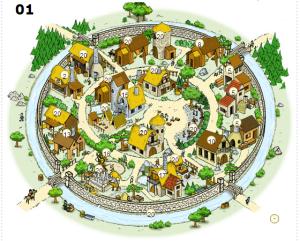 Travian comx2: Village 01: Buildings Overview