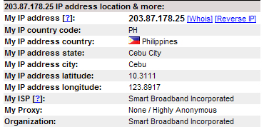 IP Address 203.87.178.25